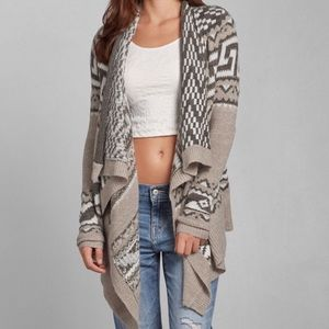 "Abercrombie ""Addison"" Blanket Cardigan XS"